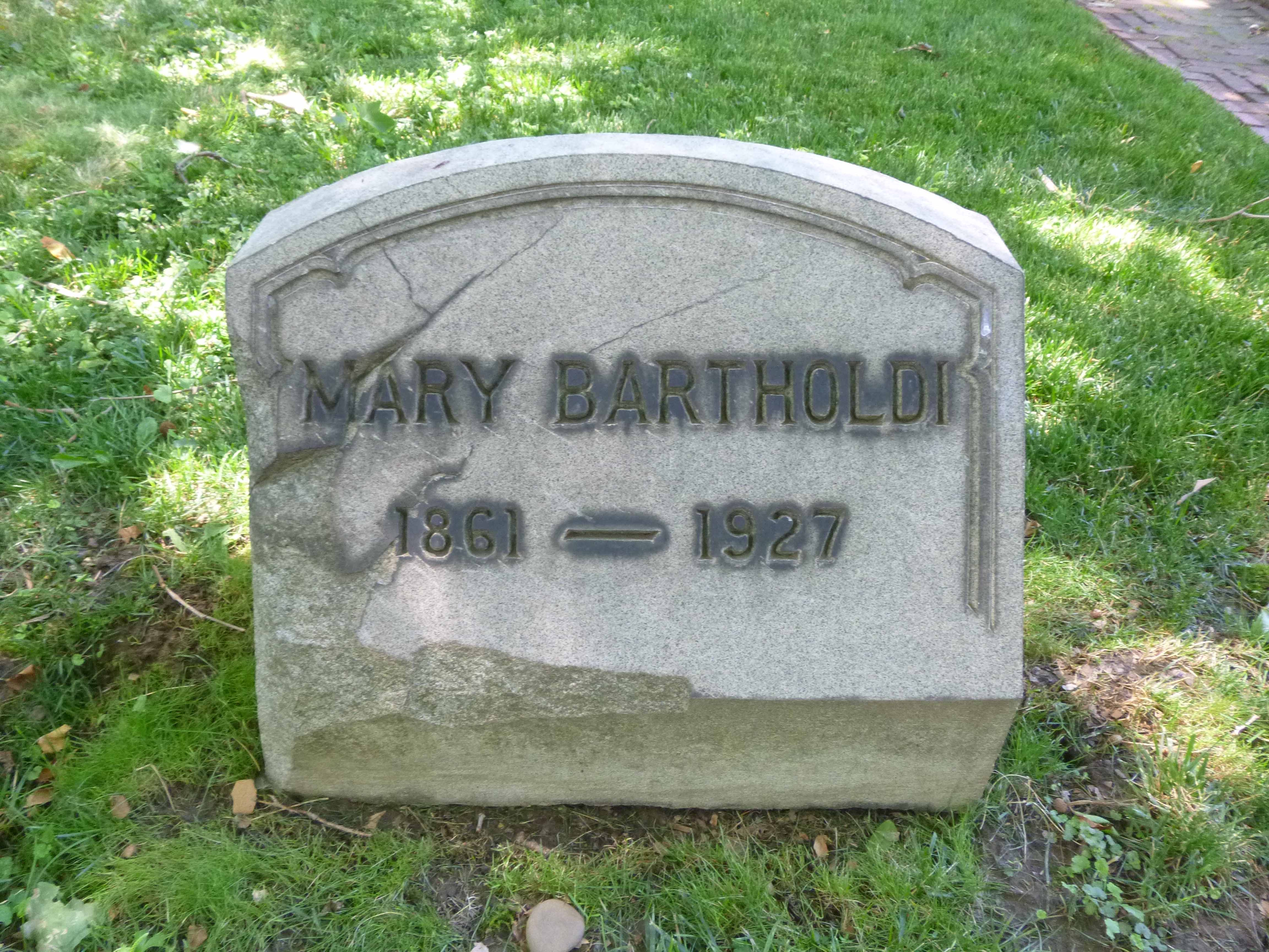 Read more about the article Mary Bartholdi