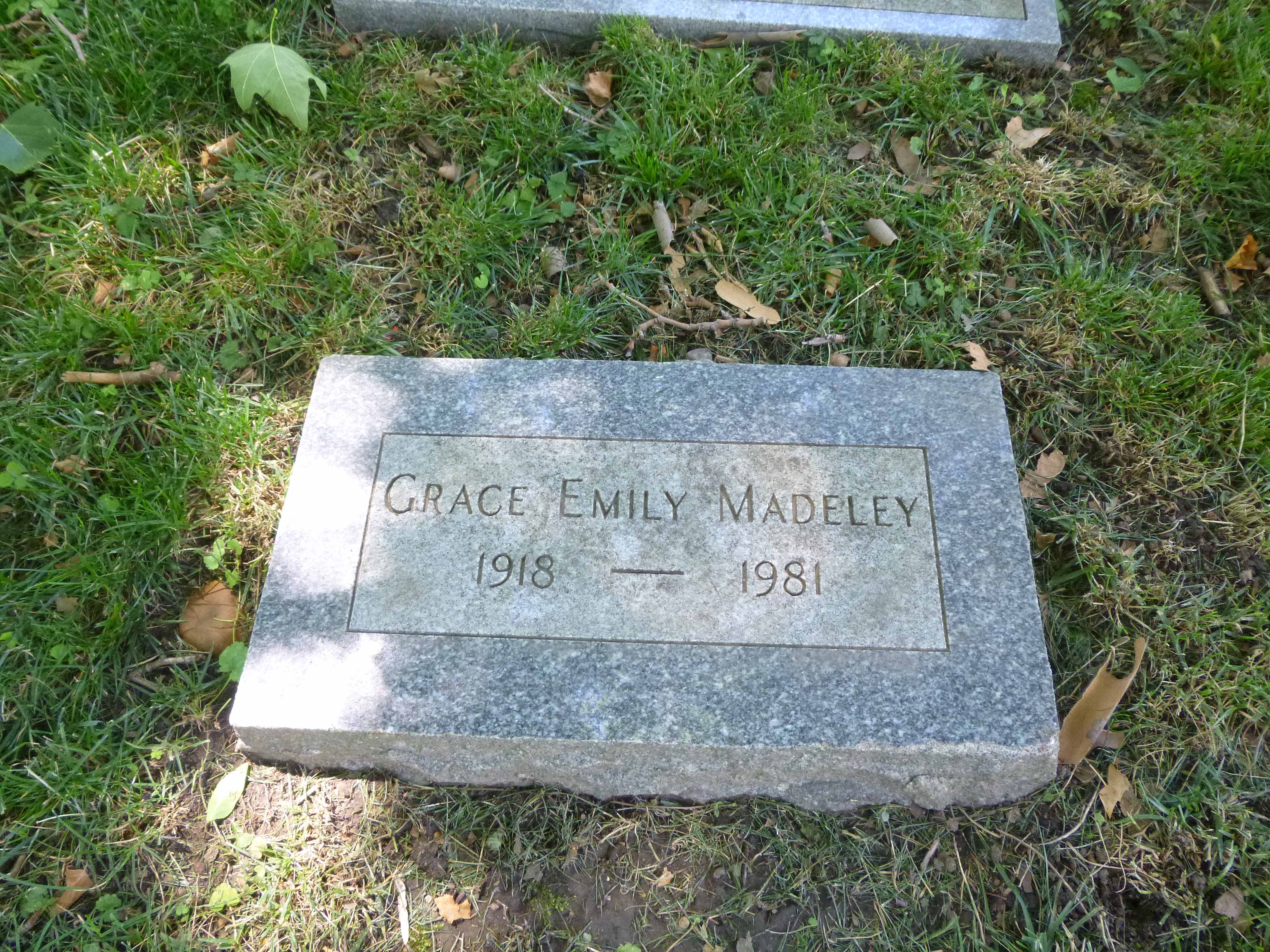 Read more about the article Grace Madeley
