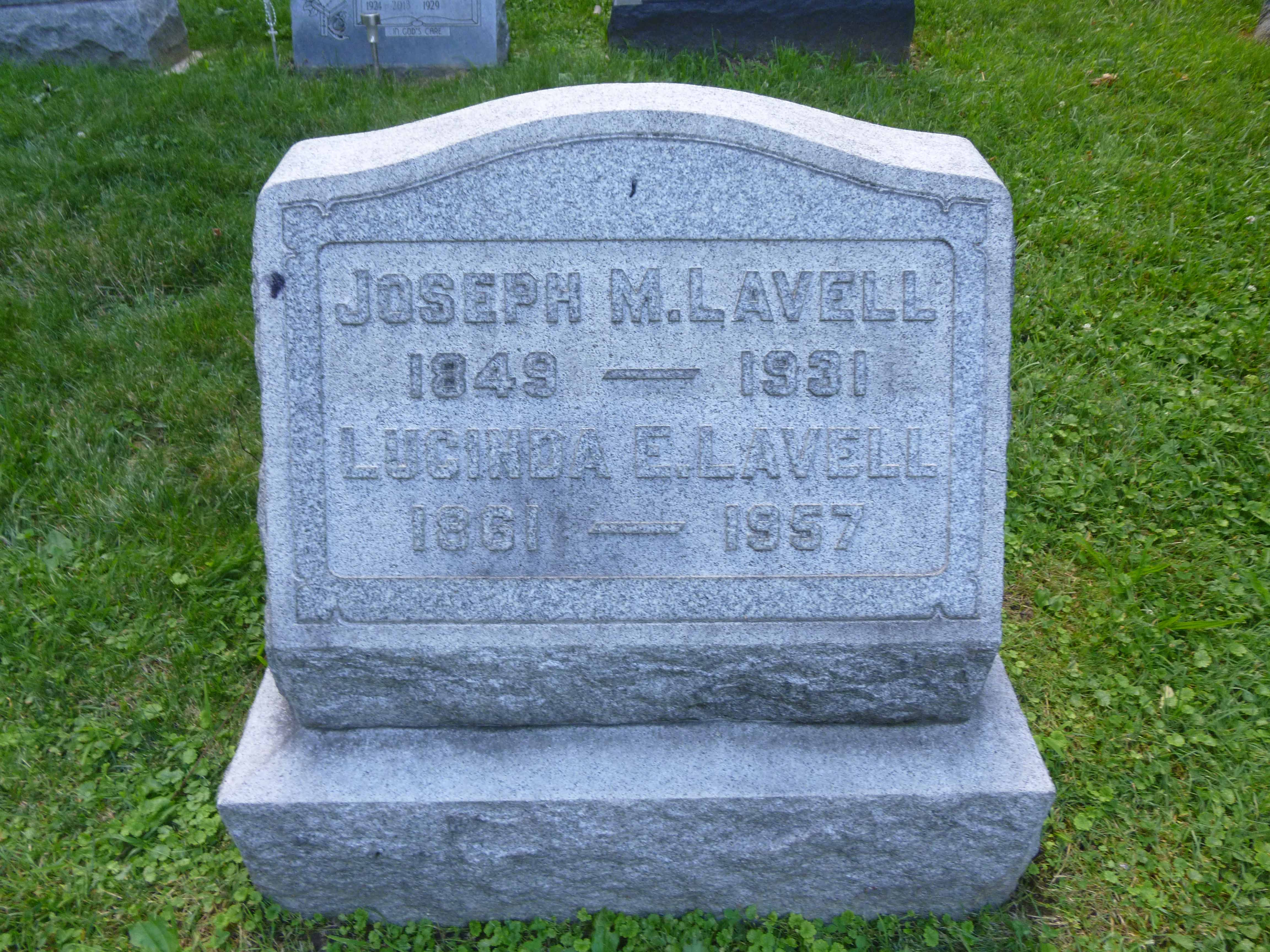 Read more about the article Joseph and Lucinda Lavell