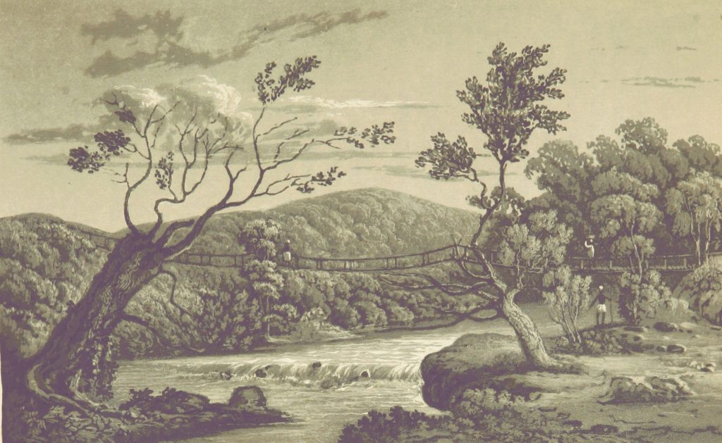 River Tingalinta, a tributary of the River Nuñez, in the 19th century.
