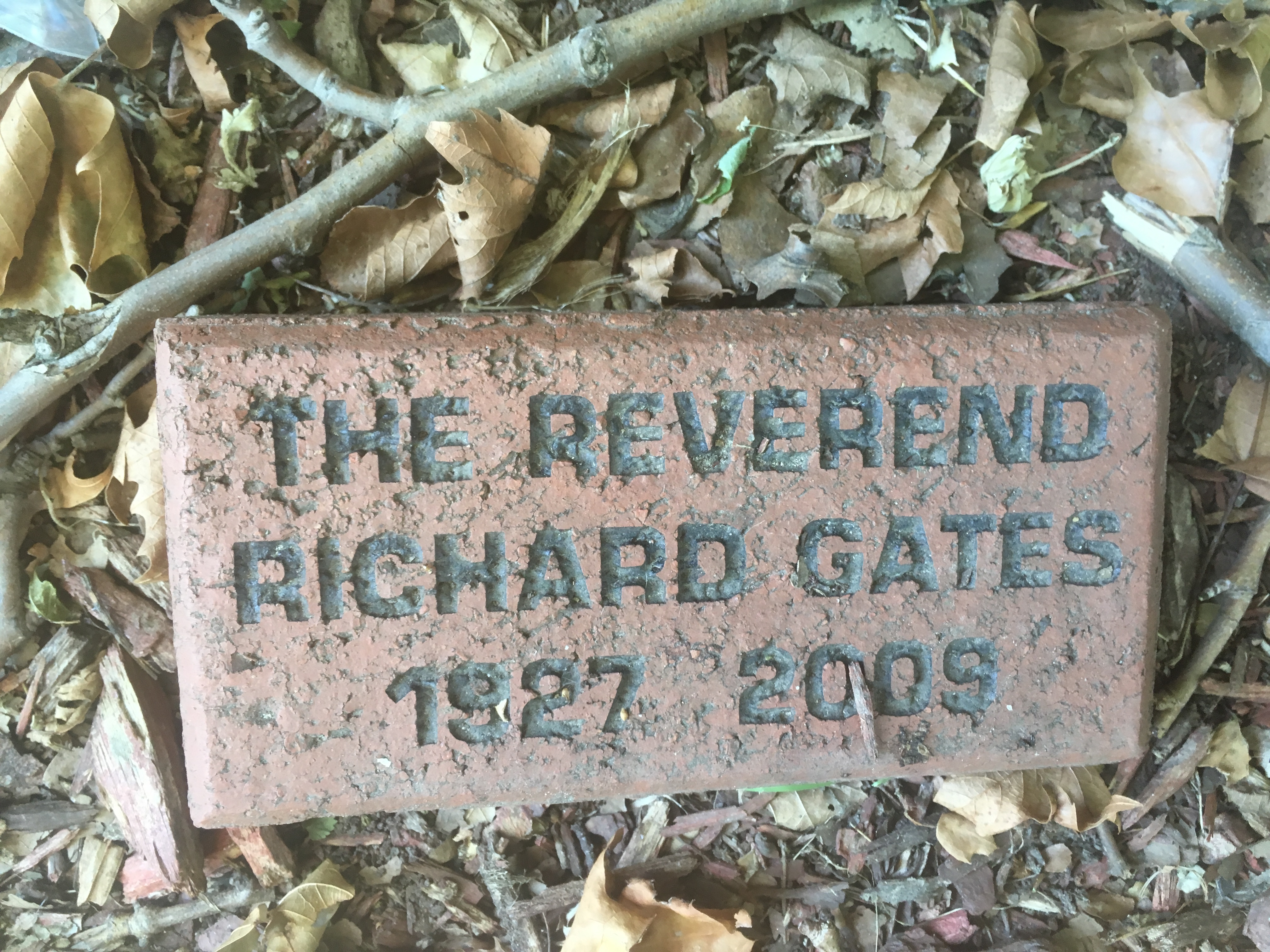 Read more about the article Reverend Richard Gates