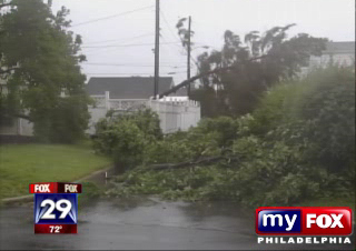 Allentown storm damage