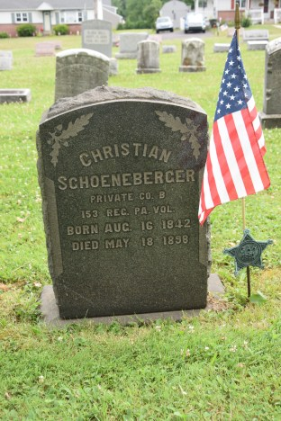 Christian Schoeneberger, South Perkasie Evangelical Cemetery