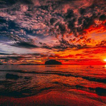 Sunset V2 (Red Sun)