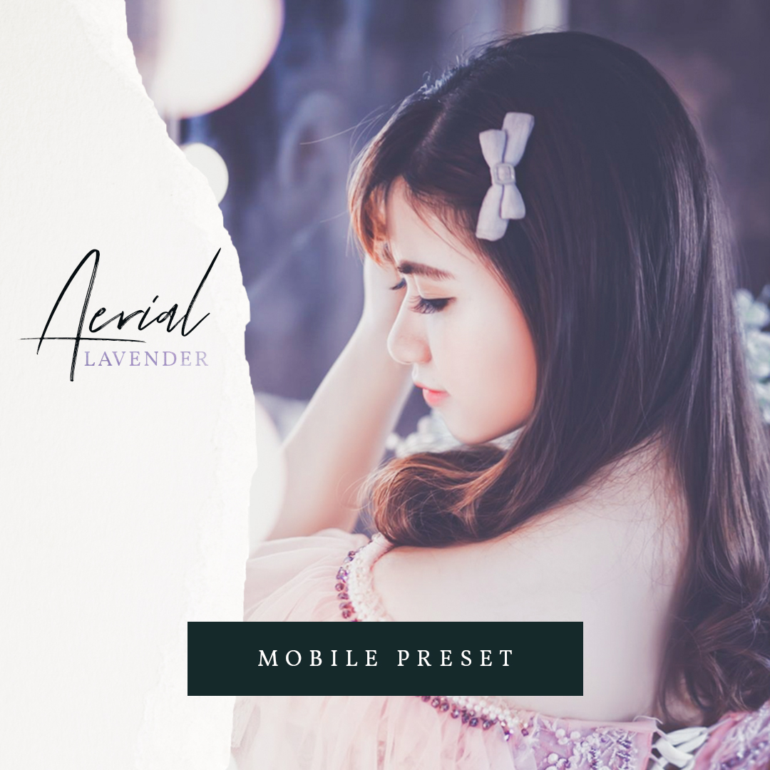 Free – Aerial Lavender Mobile Lightroom Preset – Presets Galore