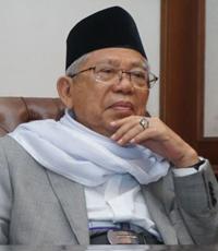 Cawapres 2019 Prof. Dr. K.H. Ma'ruf Amin