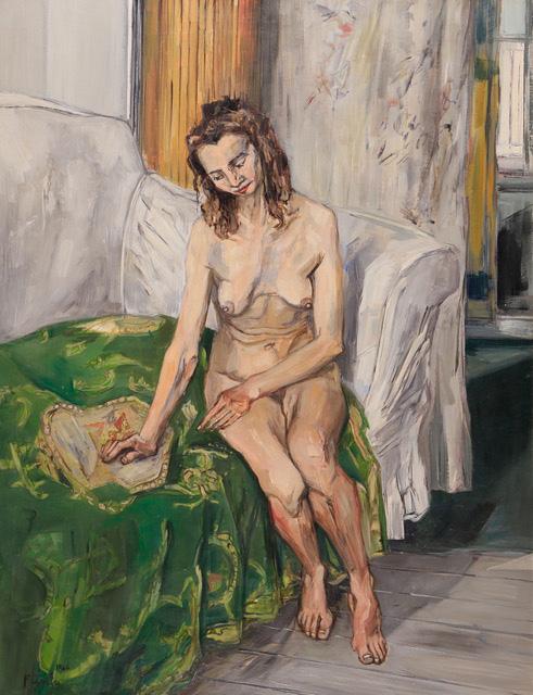 Francis Gruber, Nu au canapé vert