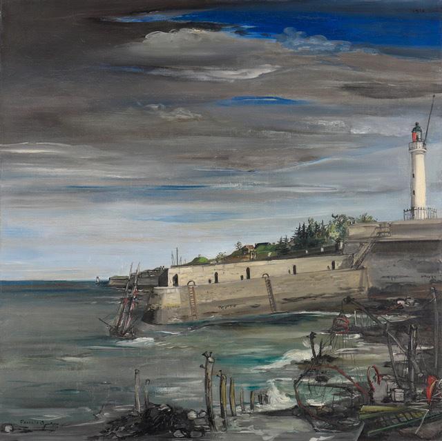 Francis Gruber, L'orage