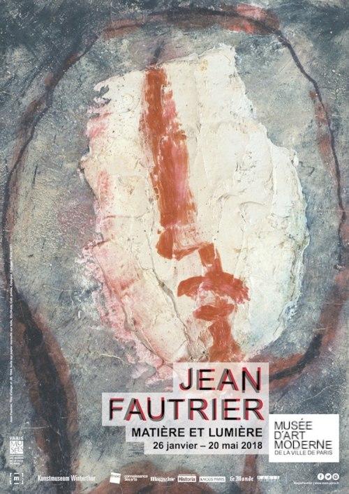 """Exhibition : Jean Fautrier """"Matière et Lumiere"""""""