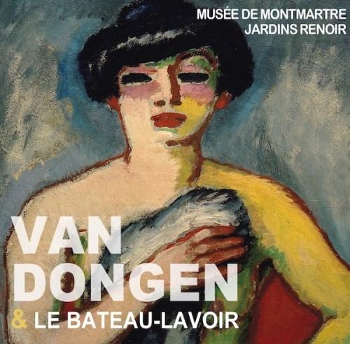"""Affiche de l'exposition """"Van Dongen et le bateau-lavoir"""""""