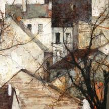 14 Michel-de-Gallard-Maisons-et-arbres-circa-1982
