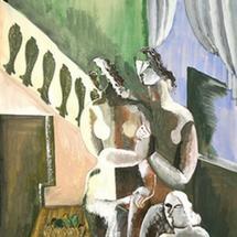 44 Ossip-Zadkine-Trois-nues-dans-un-interieur-1926