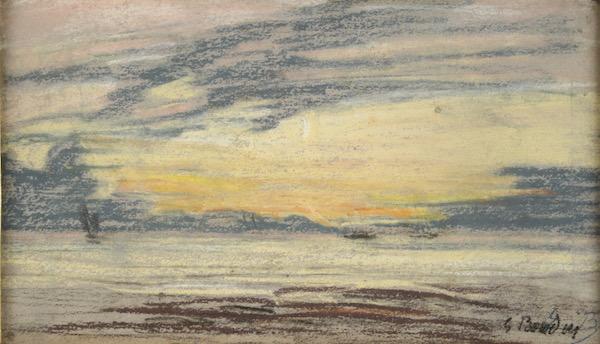 Eugene Boudin, Pastel
