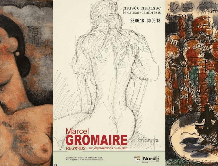 """Prêt d'œuvres de la Galerie de la Présidence au Musée Matisse Le Cateau-Cambrésis pour l'exposition """"Marcel Gromaire, regards sur les collections du musée"""""""
