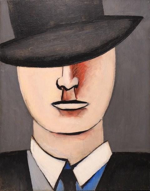 Jean Hélion Émile 1939 Huile sur panneau, 35,5 x 28 cm