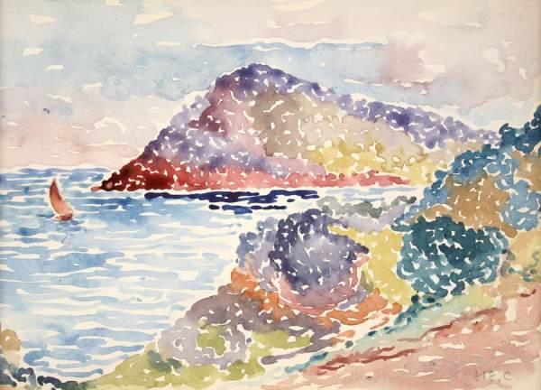 Henri-Edmond Cross, œuvre prêtée au Musée des Impressionnismes (2)