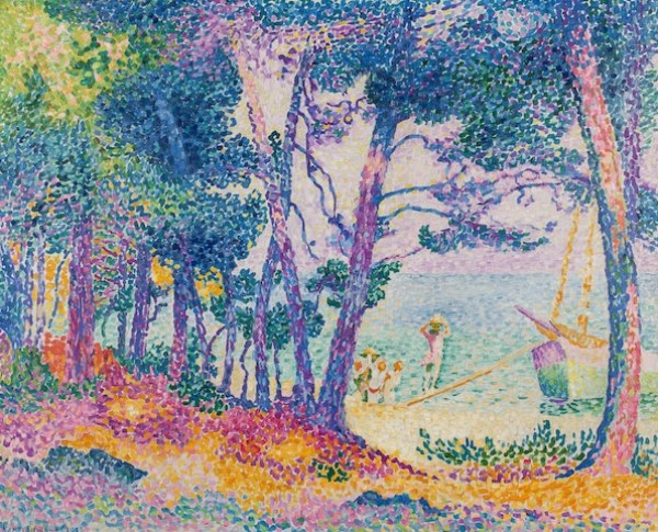 Henri-Edmond Cross, œuvre prêtée au Musée des Impressionnismes (3)