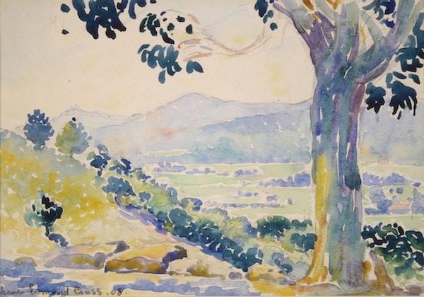Henri-Edmond Cross, œuvre prêtée au Musée des Impressionnismes (4)