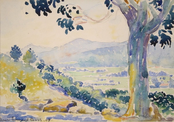Henri-Edmond Cross, loaned work to Musée des Impressionnismes (4)