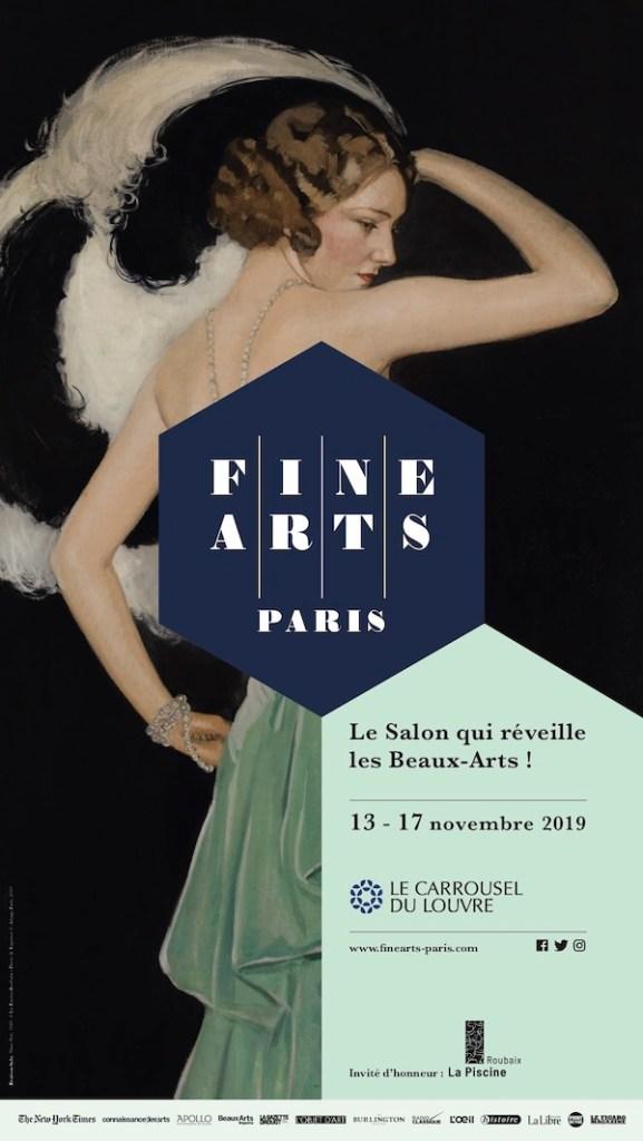 Poster of Fine Arts Paris Art Fair 2019