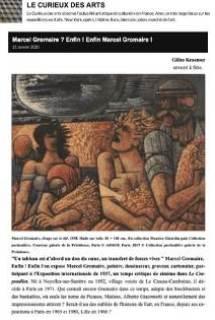 Article Marcel Gromaire, par Le Curieux des Arts, page 1