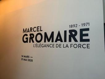 Opening of the exhibition « Marcel Gromaire, L'Élégance de la Force », at the Piscine de Roubaix, March 2020