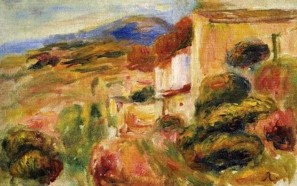 Auguste RENOIR La poste à Cagnes