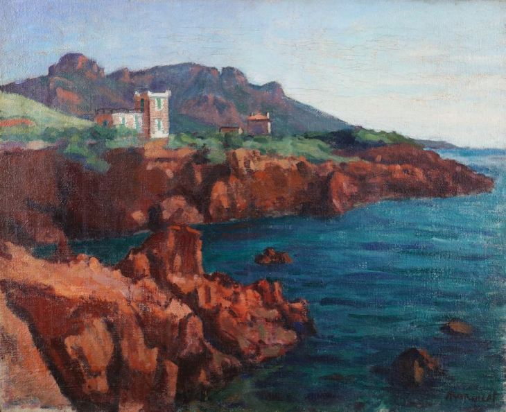 Albert Marquet, Anthéor, les roches rouges, 1905