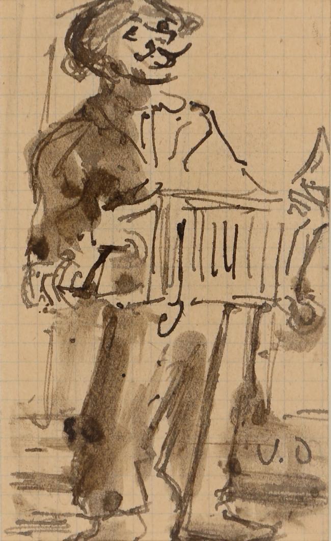 Kees Van Dongen, L'accordéoniste, Circa 1903