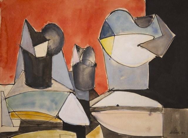 Jean HELION, Trois figures, 1938