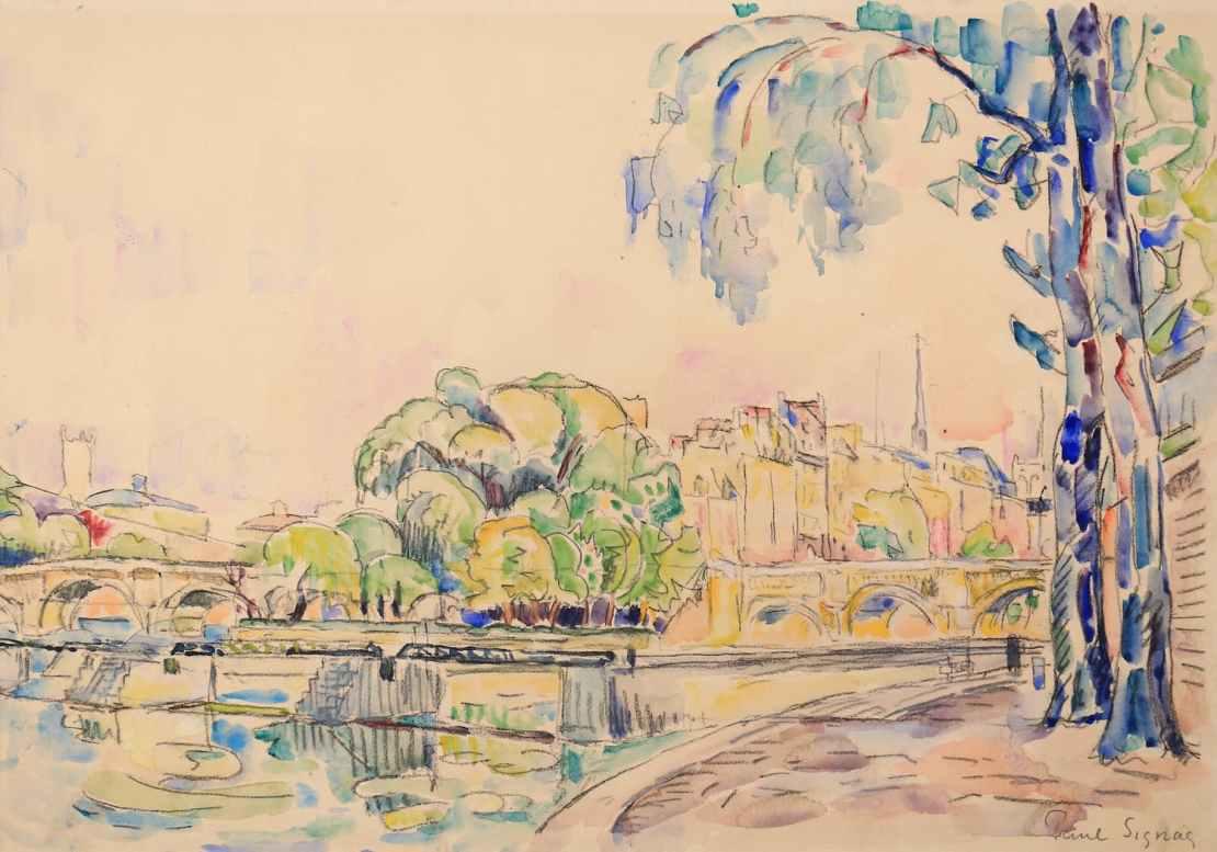 Paul Signac, Paris, la pointe de l'Ile de la Cité