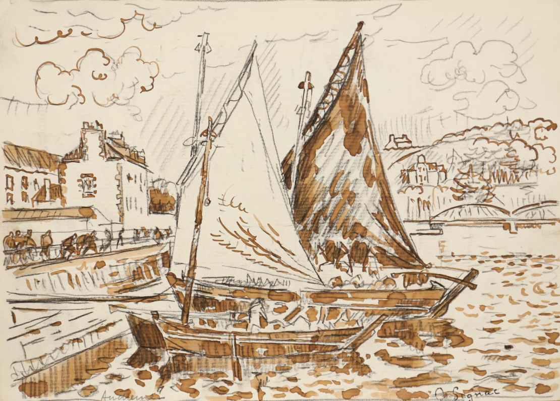 Paul Signac, Audierne, Circa 1925