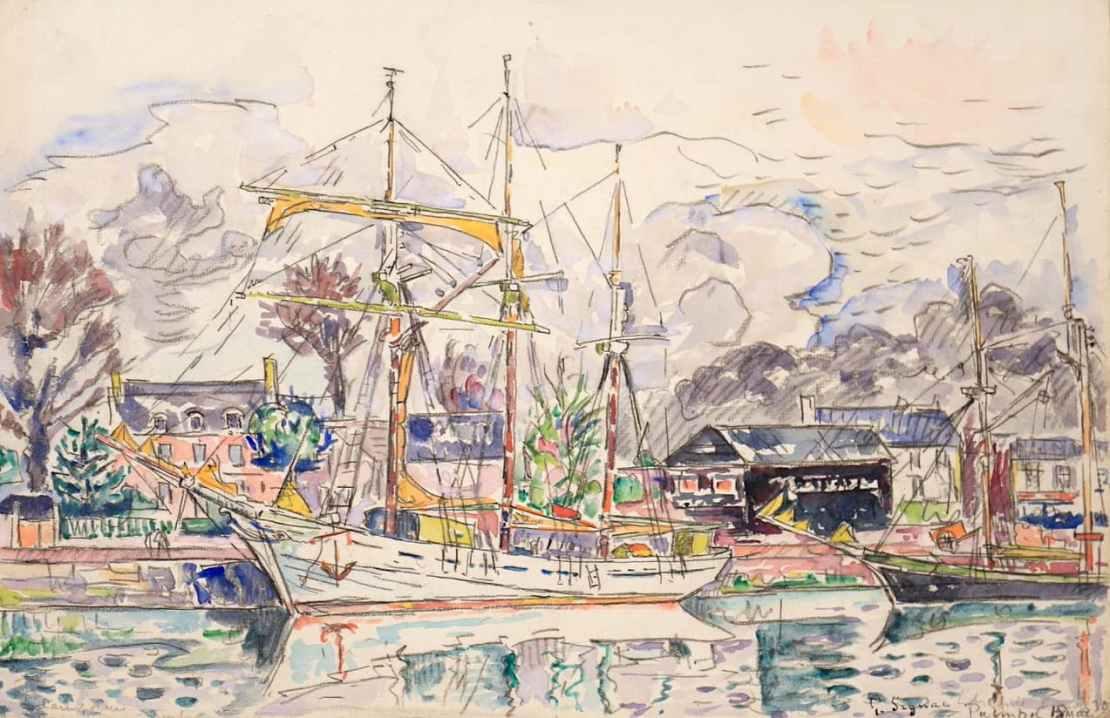 Paul Signac, Paimpol, 1930