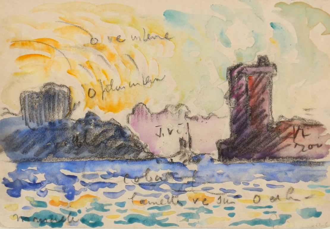 Paul Signac, Marseille, Circa 1906