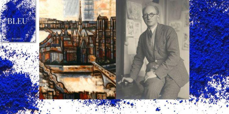 Exposition Bleu, Marcel Gromaire, La Cité en bleu