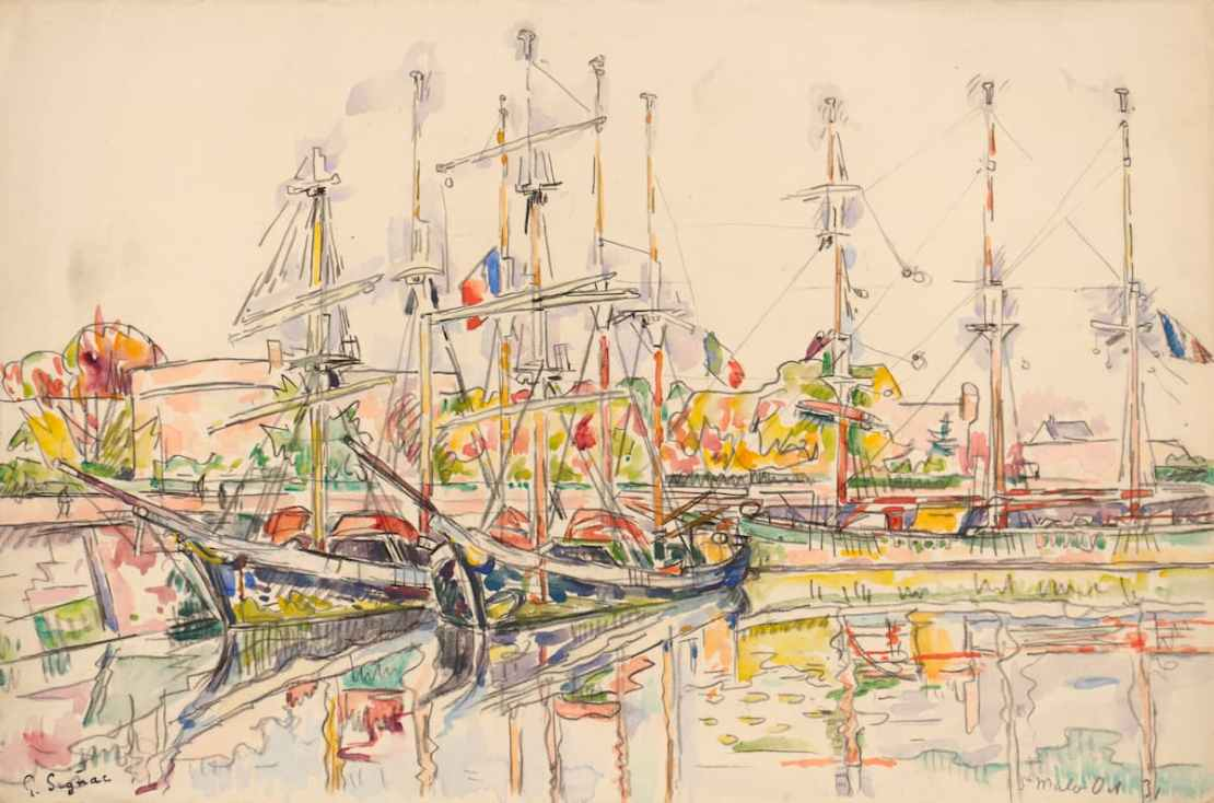 Paul Signac, Saint-Malo, janvier 1931