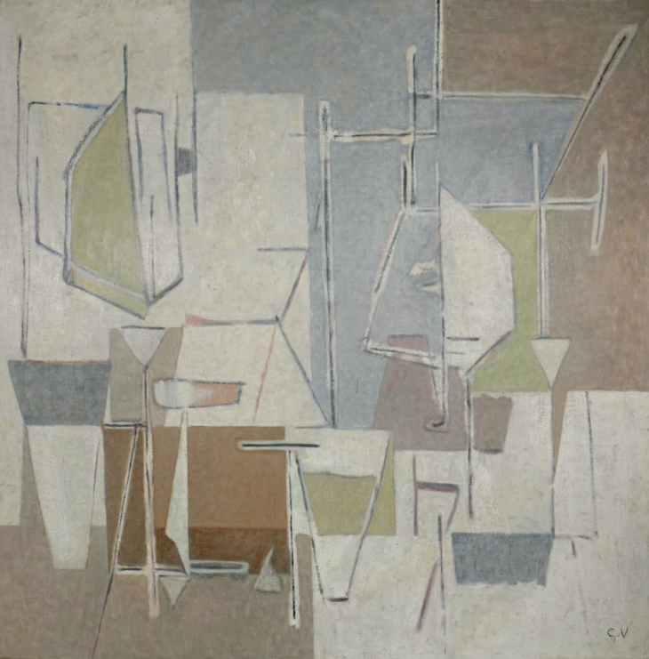 Geer van Velde, Composition, 1960