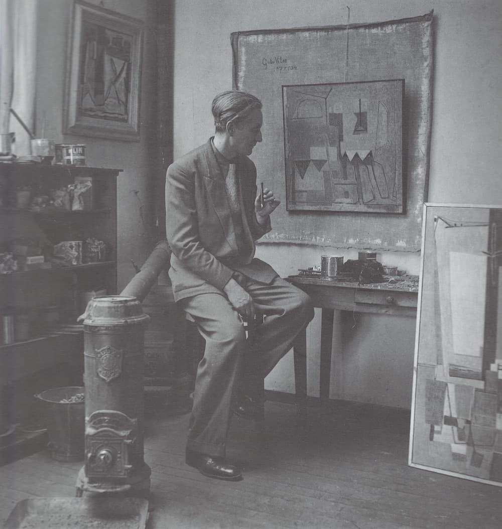 Bram et Geer van Velde à Cachan, 1948