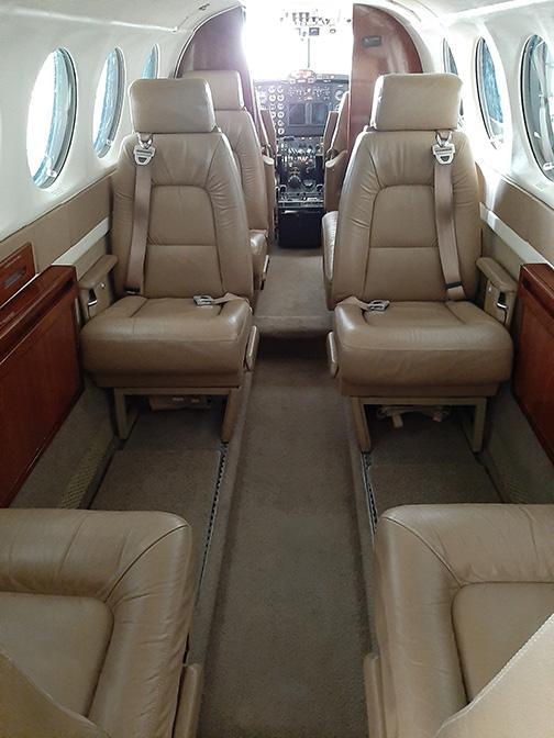 King Air 300 Seating