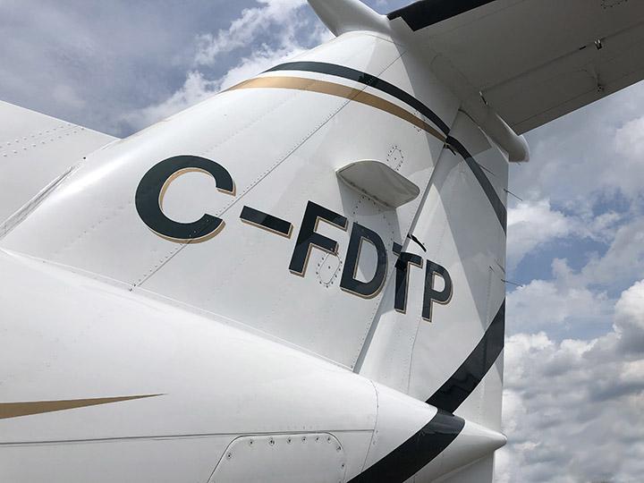 King Air 300 Tail
