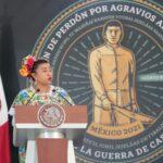 Ana Caren Dzib Poot, representante del pueblo maya