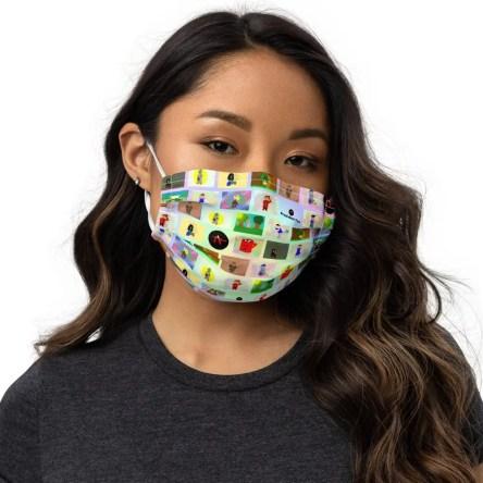 President Foo Designers Mask
