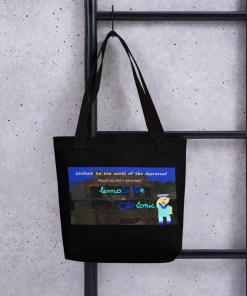 The world of the depressed - Totebag