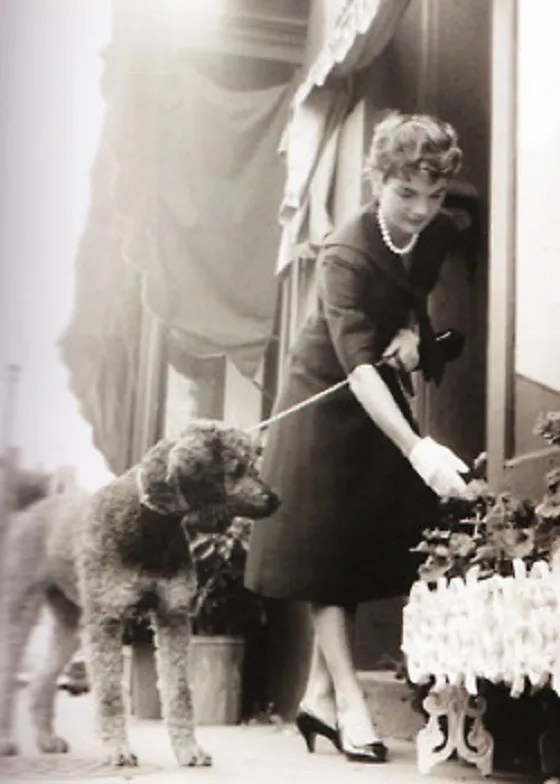 Jackie Kennedy with Gaullie.