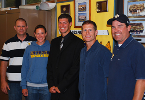 DP's Scarvelis signs with UC Davis