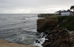 Steamer's Lane in Santa Cruz, pictured here on a quiet lay day, is the primary spot for the O'Neill Cold Water Classic, won this year by San Clemente's Nate Yeomans.  (Photo by Marc Prefontaine/ASP Images)