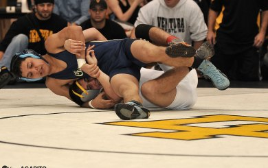 Lampe rises to challenge; 6 DP wrestlers win titles