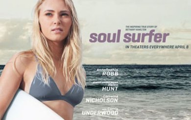 Upbeat 'Soul Surfer' keeps it simple