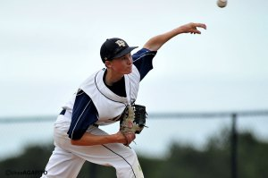 Sophmore relief pitcher Gabe Speier came in to shut down Pioneer Valley and picked up the win for DP.