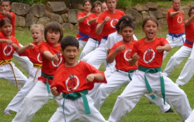 WeissCrax: Young Ninjas star in local 'promotion'